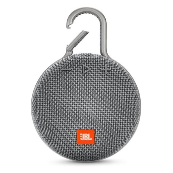 JBL CLIP3 Portable Bluetooth Speaker Stone Grey
