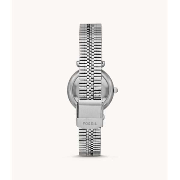 Fossil Carlie Mini Three-Hand Stainless-Steel Watch ES4695