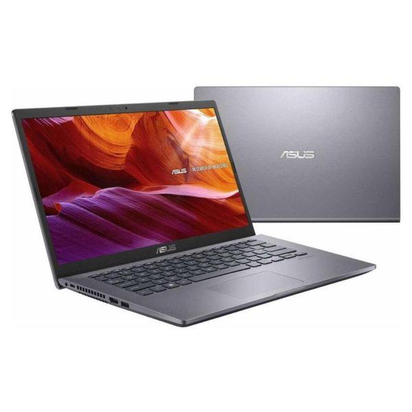 Asus X409JA-EK070T Laptop - Core i5 1GHz 4GB 512GB Shared Win10 14inch FHD Slate Grey English/Arabic Keyboard