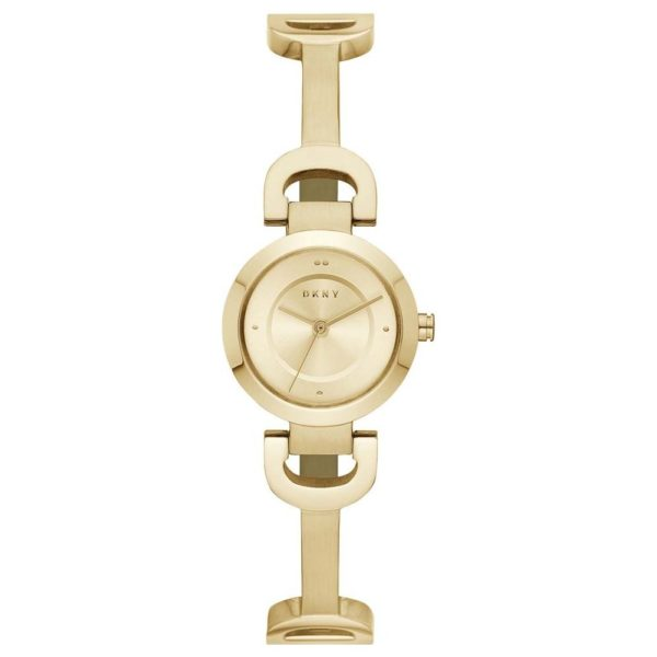 DKNY City Link Gold Stainless Steel Women Watch NY2750