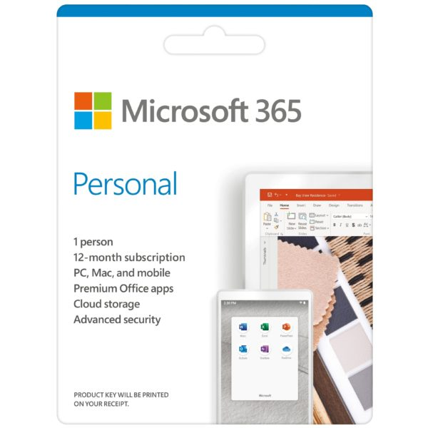 Microsoft 365 Personal Online Product Key License