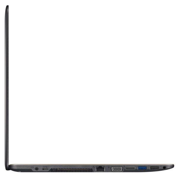 Asus VivoBook X540NA Laptop - Celeron 1.1GHz 4GB 500GB Shared Win10 15.6inch HD Black English Keyboard