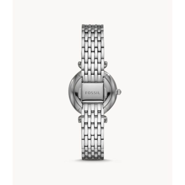 Fossil Carlie Mini Three-Hand Stainless-Steel Watch ES4692