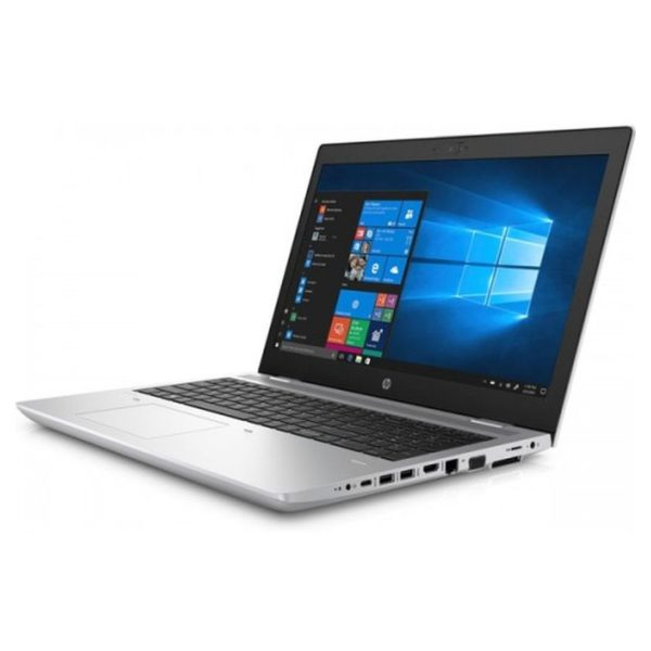 HP ProBook 650 G4 Laptop - Core i5 1.6GHz 8GB 512GB Shared Win10Pro 15.6inch FHD Natural Silver English/Arabic Keyboard