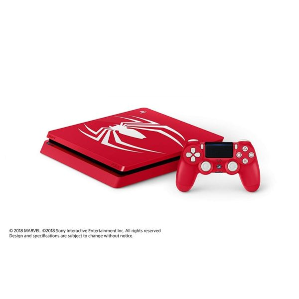 Sony PS4 Slim Gaming Console 1TB Limited Edition Marvel's Spider-Man Game