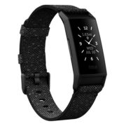 Fitbit Charge 4 Fitness Tracker Granite Reflective/Black