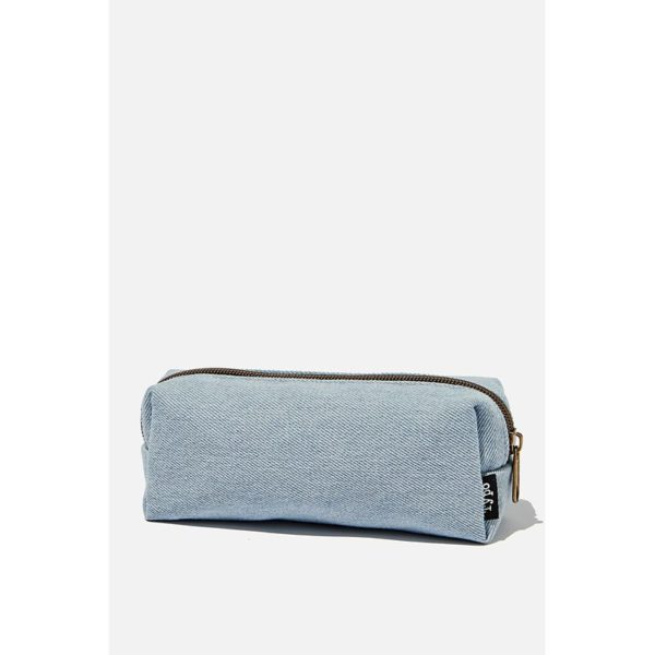 TYPO Bailey Pencil Case-Chambray