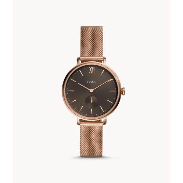 Fossil Kalya Three-Hand Rose-Gold-Tone Stainless-Steel Watch ES4704