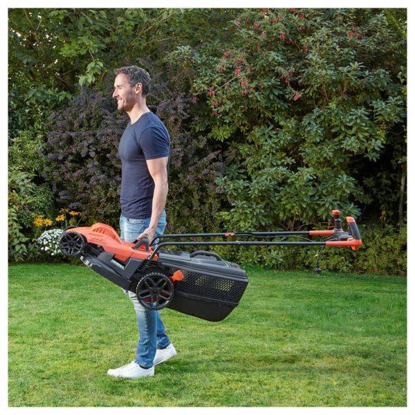 Black & Decker BEMW471BH-GB Lawn Mower With Bike Handle 1600W