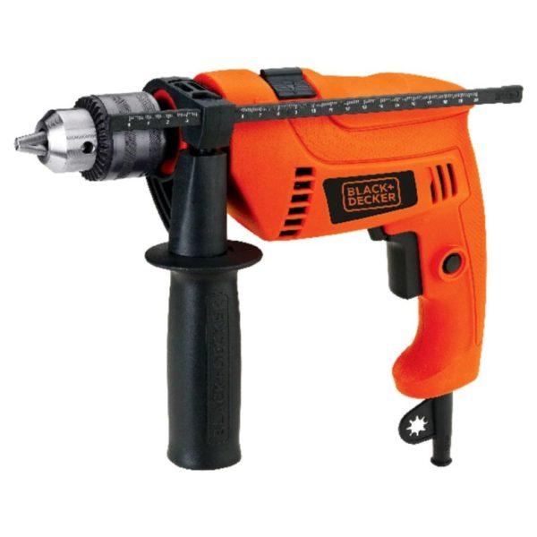 Black & Decker HD650KIT-B5 650W Hammer Drill Kit