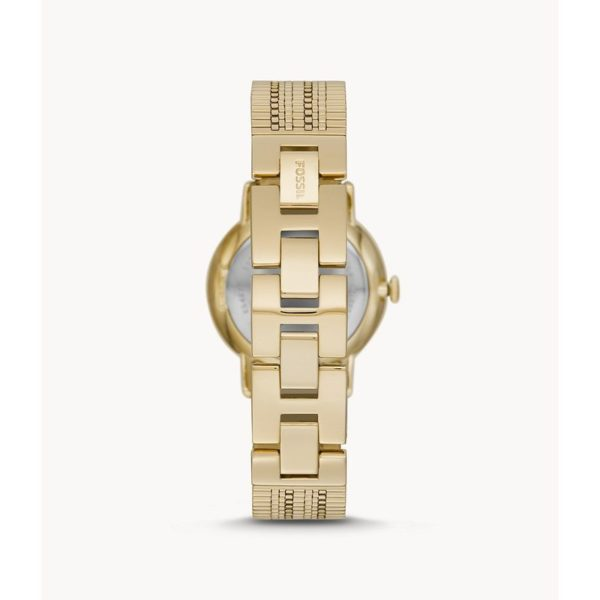 Fossil Neely Three-Hand Gold-Tone Stainless Steel Watch ES4675