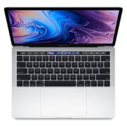 MacBook Pro 13-inch with Touch Bar and Touch ID (2019) - Core i5 1.4GHz 8GB 128GB Shared Silver English Keyboard