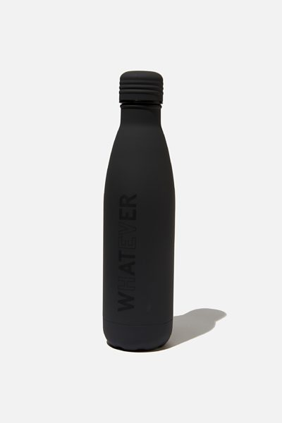 TYPO Metal Drink Bottle Whatever