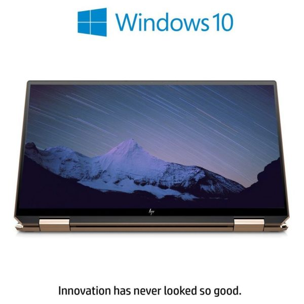 HP Spectre x360 13-AW0008NE Convertible Laptop, 13.3 inch Touchscreen FHD,Intel® Core™ i7 processor, 1.3GHz, 16GB RAM 1TB+32GB, Intel Graphics, Windows 10 Home, Nightfall Black