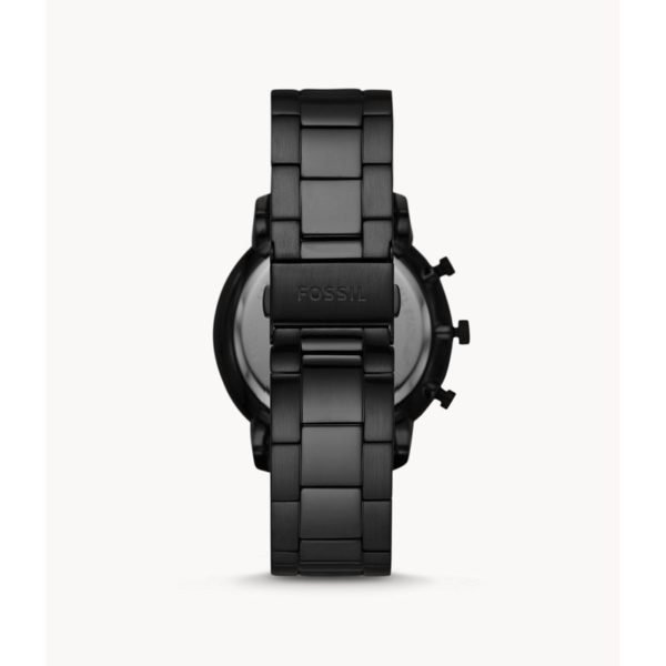 Fossil Neutra Chronograph Black Stainless Steel Watch FS5583