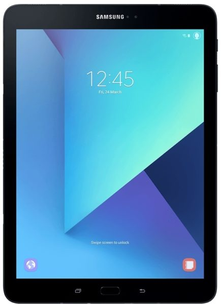Samsung Galaxy Tab S3 SM-T825N Tablet - Android WiFi+4G 32GB 4GB 9.7inch Black with S Pen + Cover