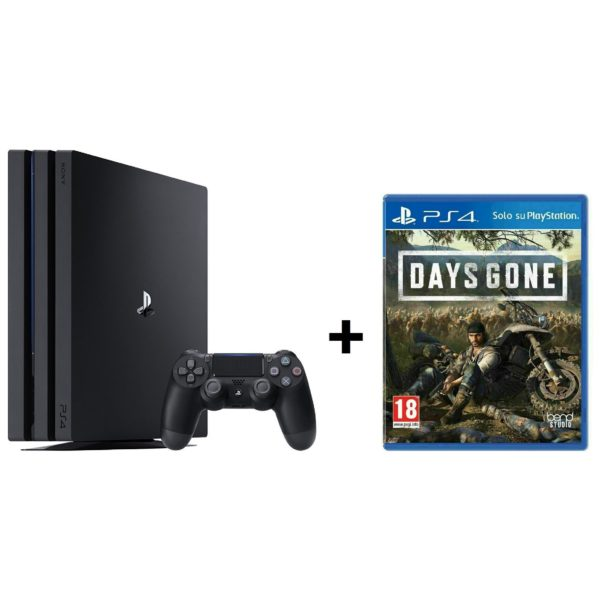 Sony PS4 Pro Gaming Console 1TB Black + PS4 Days Gone Game Bundle