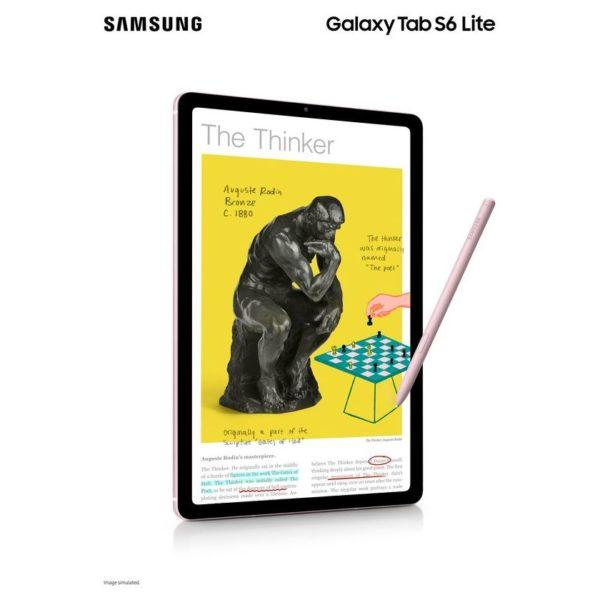 Samsung Galaxy Tab S6 Lite SM-P610 Tablet - WiFi 64GB 4GB 10.4inch Chiffon Pink
