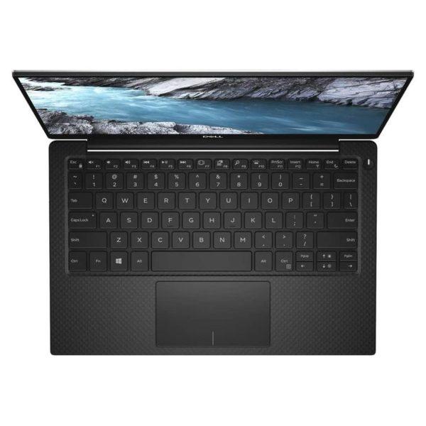 Dell XPS 13 Laptop - Core i7 1.8GHz 16GB 2TB Shared Win10 13.3inch UHD Silver English/Arabic Keyboard