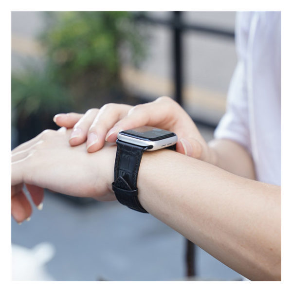Dux Ducis Luxury Apple Watch Band 42/44mm Black