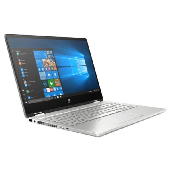 HP Pavilion x360 14-DH1026NE Convertible Touch Laptop - Core i5 1.6GHz 8GB 512GB 2GB Win10 14inch FHD Mineral Silver English/Arabic Keyboard