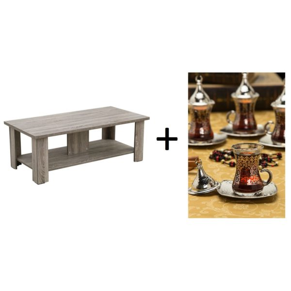 Nada Coffee Table + Sena Damia Set