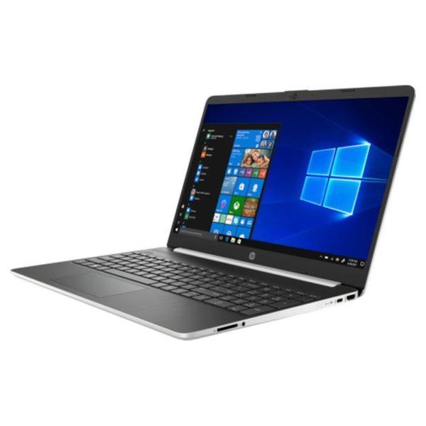 HP 15S-FQ1001NE Laptop - Core i3 1.2GHz 4GB 256GB Shared Win10 15.6inch FHD Natural Silver English/Arabic Keyboard