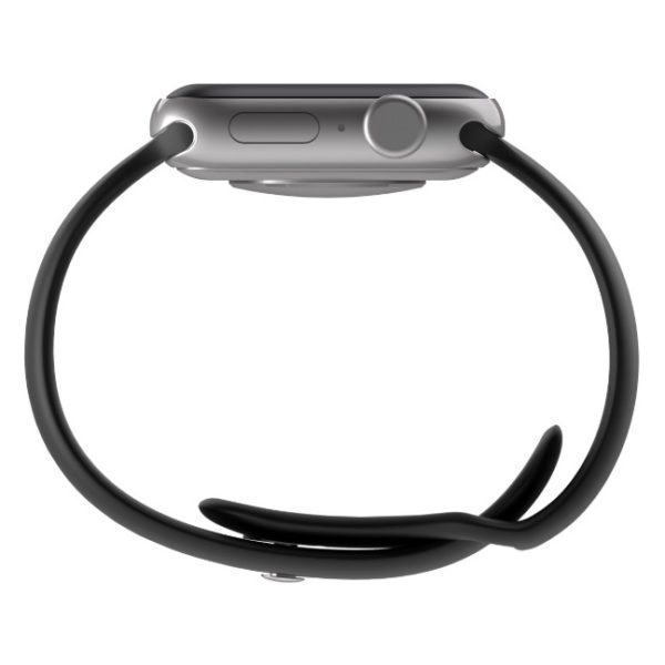 BeHello Premium Silicone Strap 42/44mm For Apple Watch Black