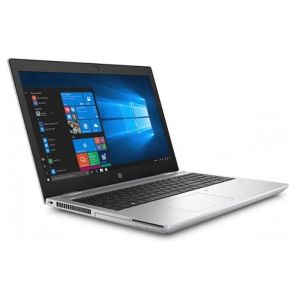 HP ProBook 650 G4 Touch Laptop - Core i5 1.6GHz 8GB 512GB Shared Win10 15.6inch FHD Natural Silver English/Arabic Keyboard bundle with mouse & bag