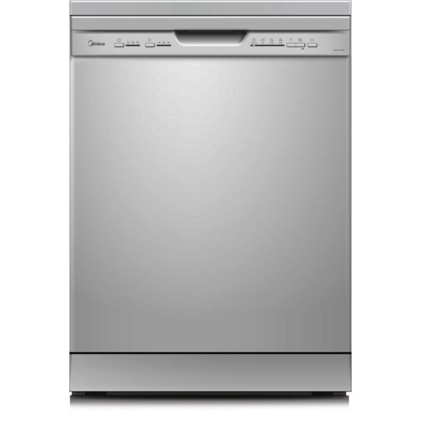 Midea Dishwasher 12 Place Silver WQP125203-S
