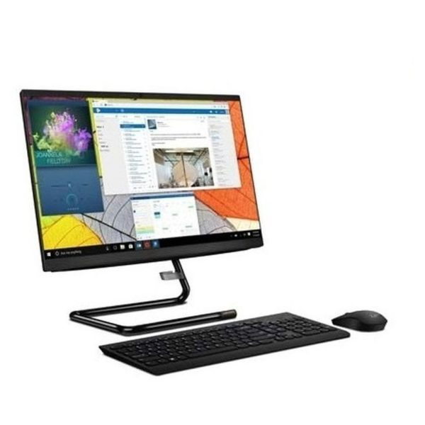 Lenovo ideacentre A340-22IGM All-in-One Desktop - Celeron 2GHz 4GB 1TB Shared Win10 21.5inch FHD Business Black English/Arabic Keyboard