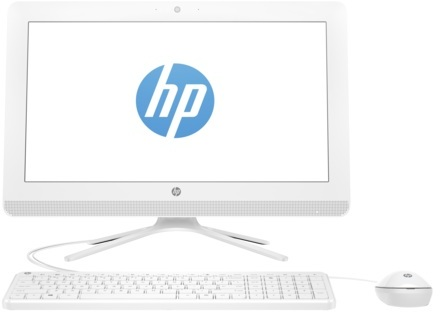 HP 22-B315NE All in One Desktop - Core i3 2.4GHz 4GB 1TB 2GB Win10 21.5inch FHD White English/Arabic Keyboard