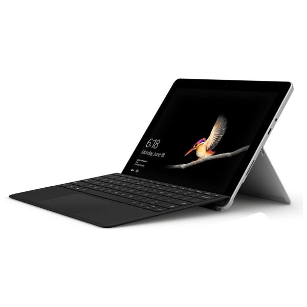 Microsoft Surface Go - Pentium Gold 1.6GHz 8GB 128GB Shared Win10s 10inch Silver + Type Cover Black