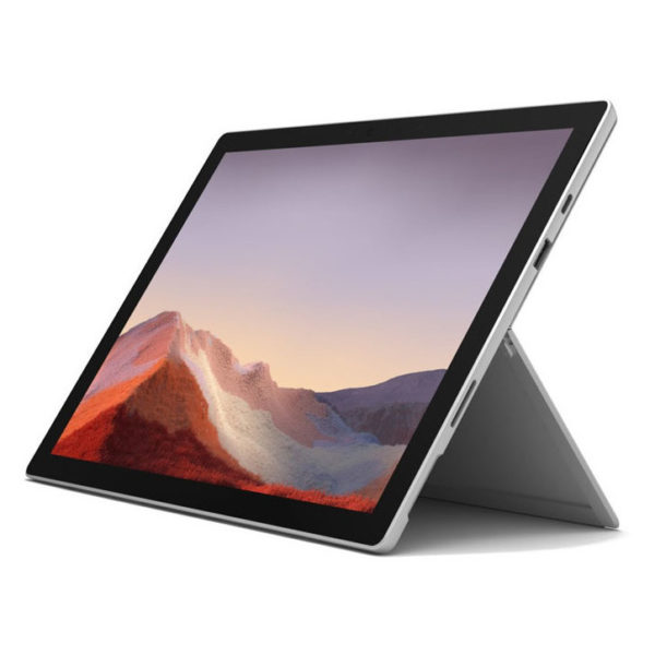 Microsoft Surface Pro 7 – Core i5 1.1GHz 8GB 128GB Shared Win10 12.3inch Platinum with Microsoft Surface Cover Black
