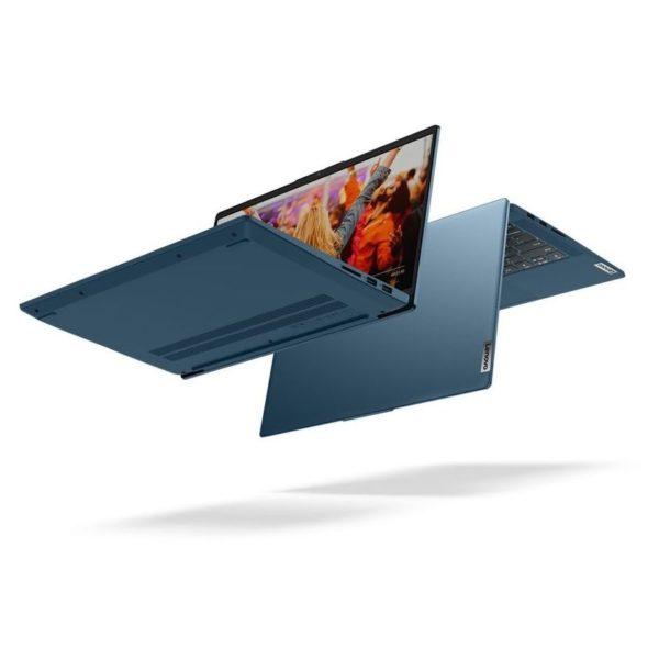 Lenovo IdeaPad 5 14IIL05 Laptop - Core i5 1GHz 8GB 512GB 2GB Win10 14inch FHD Light Teal English/Arabic Keyboard