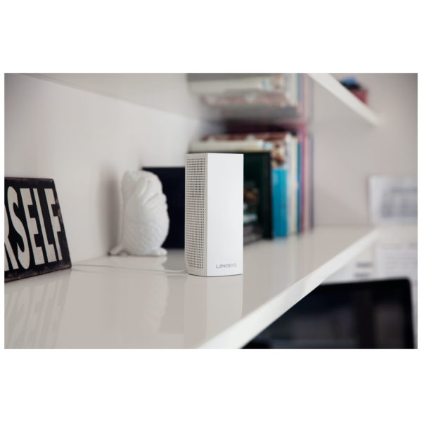 Linksys WHW0303 Velop Tri-Band AC6600 Modular Whole Home Wi-Fi Mesh System - Pack of 3