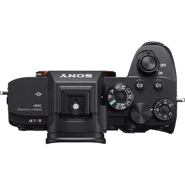 Sony Alpha ILCE7RM4 Mirrorless Camera Body Black With FE 24-105 F4 G OSS Lens