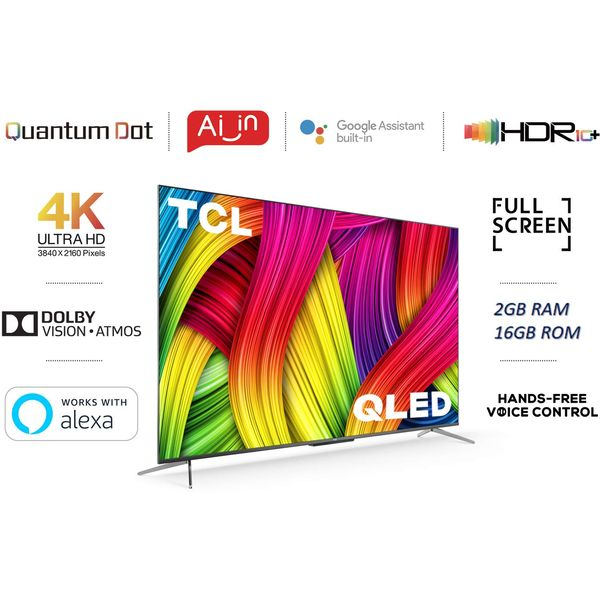 TCL 65C715 4K QLED Android TV 65inch