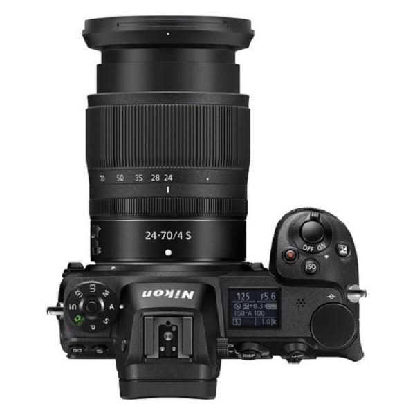 Nikon Z6 Digital Mirrorless Camera Black With 24-70MM f/4 Lens