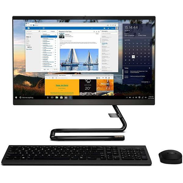 Lenovo A340-F0EB00FCAX All-in-One Desktop Corei3 4GB 1TB Win10 21.5inch FHD Black