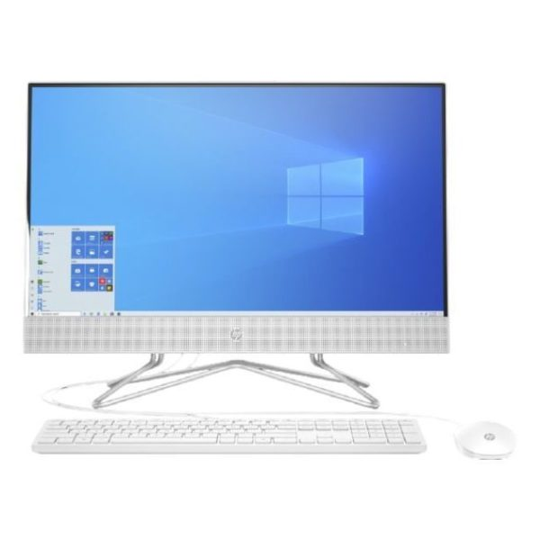 HP 140G1AA All in One Desktop - Core i3 3.40GHz 4GB 1TB Windows 10 Home 21.5inch 1920 x 1080 White English Keyboard + HP 3ML04AA Keyboard/Mouse Arabic