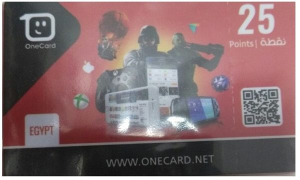 One Card Prepaid 25 Points