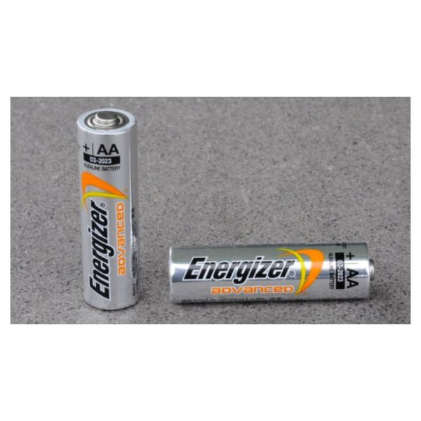 Energizer X91BP2 Advance Alkaline Battery AA 2pcs