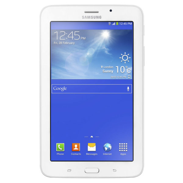 Samsung Galaxy Tab 3 Lite 7.0 SMT116 Tablet - Android WiFi 8GB 1GB 7inch Cream White