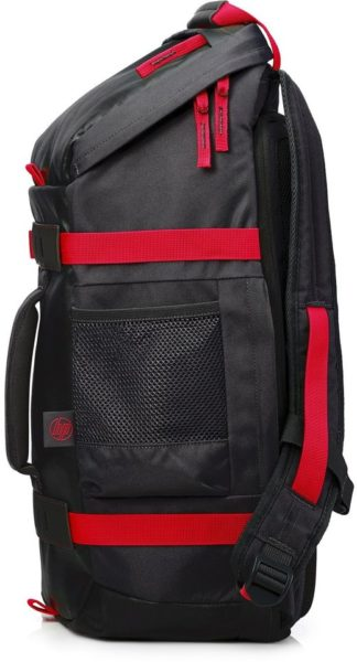 HP 15.6 Odyssey Backpack Black/Red X0R83AA