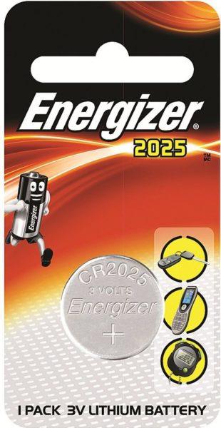 Energizer ECR2025BP1Coin Battery Simba Pack