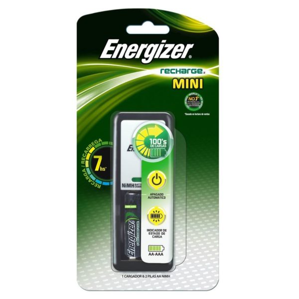 Energizer CH2PC3 Maxi Charger With 2 AAA Battery