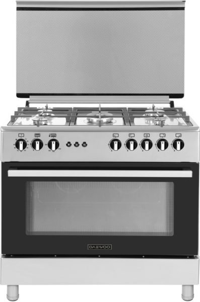 Daewoo 5 Gas Burners Cooker DGC962BF price, deal, buy in Egypt ...