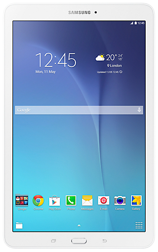 Samsung Galaxy Tab E 9.6 SMT561 Tablet - Android WiFi+3G 8GB 1.5GB 9.7inch White