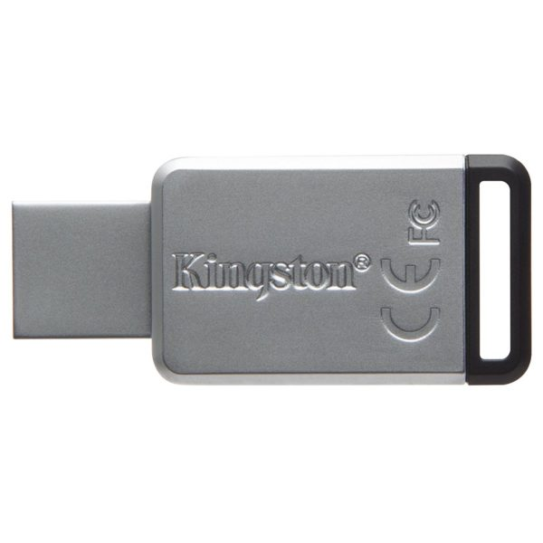 Kingston DT50128GB DataTraveler 50 USB 3.1 Flash Drive 128GB Metal